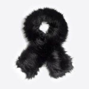 nwt jcrew faux fur stole h3916